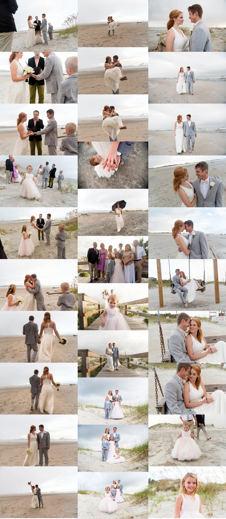 tybee beach wedding